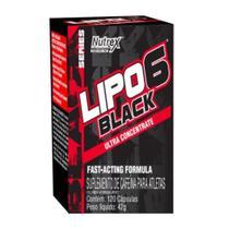 Lipo 6 Black Ultra Concentrado (120Caps) - Nutrex -