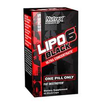 Lipo 6 Black Ultra Concentrado 60 caps - Nutrex
