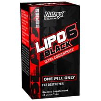 Lipo 6 Black Ultra Concentrate  60 Cápsulas - Novo Black Series - Nutrex