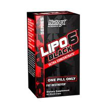 Lipo 6 black ultra concentrate 60 cápsulas - Nutrex