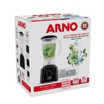 Liquidificador 2 Velocidades Preto 127V - Arno Power Mix -