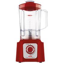 Liquidificador Arno Power Max LN54 Copo de Plástico 15 Velocidades + Pulsar 1000W Vermelho -