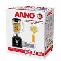 Liquidificador Arno Power Mix Plus Lq20 Com 3 Velocidades 127V / 550w - Preto -