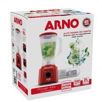 Liquidificador Arno Vermelho Power Mix 2 Veloc. 550W - 127V -