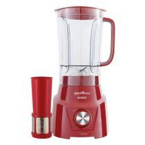 Liquidificador Britânia B1000, 12 Vel, Filtro, 1000W, Vermelho - 220V -