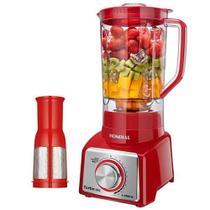 Liquidificador Com Jarra De Plástico Mondial L-1000 Ri 1.000W/3L/127V - Vermelho -