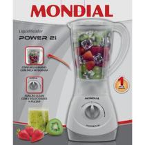 Imagem de Liquidificador Mondial Power 1,5 Litros 2 velocidades 350W - NL-26