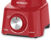 Liquidificador Mondial Turbo 900W L-900 FR-2C -