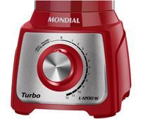 Liquidificador Mondial Turbo Inox L-1200 RI -