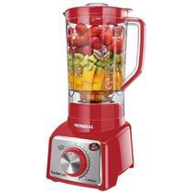 Liquidificador Mondial Turbo L-1000 Ri 3l 1000w - Red 110v -
