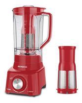 Liquidificador Mondial Turbo L900 5 Vel Filtro 900w-vermelho -