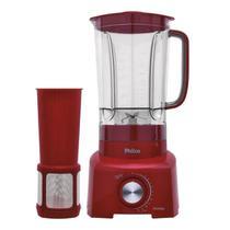 Liquidificador philco ph900 3 litros 1200w vermelho - 127v -