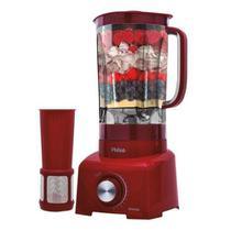 Liquidificador Philco PH900 Vermelho 2L 12 vel 1200W 110V -