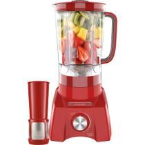 Liquidificador philco plq1412v 1200w 3 litros  12 vel. vermelho - 220v -