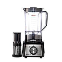 Liquidificador Turbo Black Inox L-1000BI Mondial  Preto e Inox 5881-01 127V -