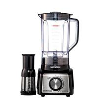 Liquidificador Turbo Black Inox L-1000BI Mondial  Preto e Inox 5881-02 220V -