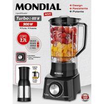 Liquidificador Turbo Full Black 127v - Mondial -
