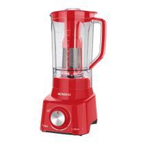 Liquidificador Turbo Full Red L-900FR Mondial Vermelho 5871-01 127V -