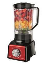 Liquidificador Turbo Mondial Premium Red Panel L-1000 RP -