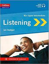 Listening b2+ upper intermediate- collins english for life skills - book with mp3 cd -