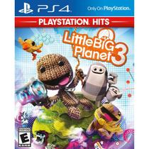 Little Big Planet 3 Playstation Hits - Ps4 - Sony