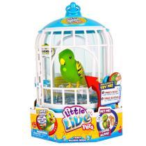 Little Live Pets - Pássaro e Gaiola Tico Amigo - DTC -
