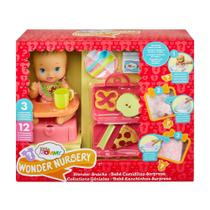 Little Mommy Bebe Lanchinhos Surpresa Pizza Docinha Gfk75 - Mattel