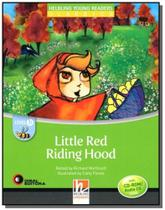 Little red riding hood - level b - with cd-rom - s - Disal editora