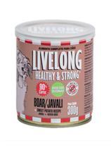 LiveLong Alimento Úmido Cães Javali 300g -