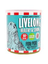 LiveLong Alimento Úmido Cães Peixe 300g -