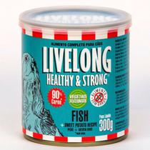 Livelong Cães Fish (Peixe) 300g -