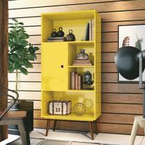 Livreiro mdf chaplin, estante para livros, edn móveis -