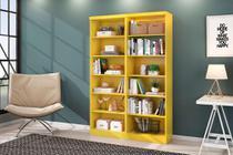 Livreiro Multiuso Amarelo Kit com 2 - FdECOR - Qmovi
