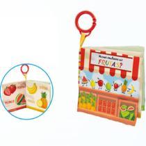 Livrinho Buba Toys Conhecendo as Frutas 6m+ - 6847 -
