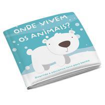 Livrinho De Banho Animais Multikids Baby - BB174 -