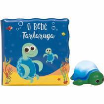 Livrinho De Banho Tartaruga Com Luz - Buba -