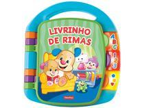 Livrinho de Rimas Fisher Price - Mattel CDH62