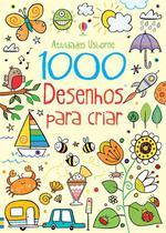 Livro - 1000 desenhos para criar -