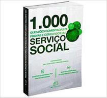 Livro 1000 Questões Comentadas Provas Concursos Em Serviço Social - 2b -