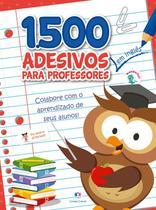 Livro - 1500 adesivos - Colabore com o aprendizado de seus alunos Inglês -