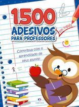 Livro - 1500 adesivos - Contribua com o aprendizado de seus alunos Inglês -