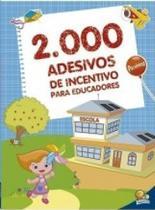 Livro - 2000 adesivos de incentivos para educadores -