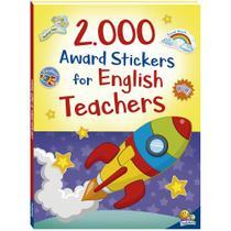 Livro - 2000 award stickers for english teachers -