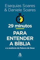Livro - 29 minutos para entender a Bíblia -
