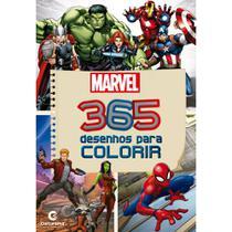 Livro - 365 DESENHOS PARA COLORIR MARVEL -