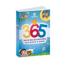 Livro 365 Histórias Para Ler Encantadas Infantil Hora dormir - culturama