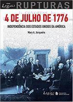 Livro - 4 de julho de 1776 - Independência dos Estados Unidos da América -