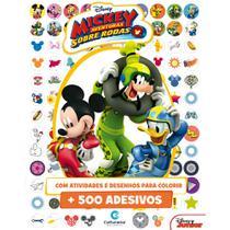 Livro - 500 ADESIVOS DISNEY MICKEY -