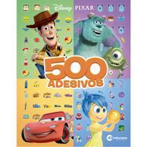 Livro - 500 ADESIVOS DISNEY PIXAR -