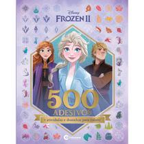 Livro - 500 ADESIVOS FROZEN 2 -